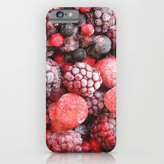 Frozen Berries iPhone & iPod Case