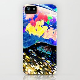 drowning car iPhone Case