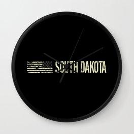 Black Flag: South Dakota Wall Clock