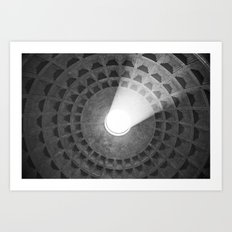 Dome of the Pantheon Art Print