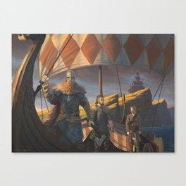 Captain of the Drakkar Canvas Print