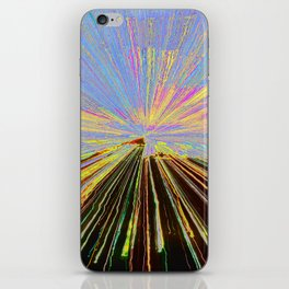 0255 bent iPhone Skin