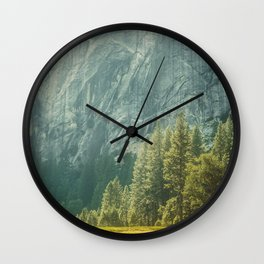 Yosemite Valley VII Wall Clock
