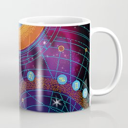 MOON AND PLANETS Coffee Mug