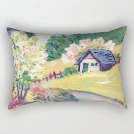 Spring Alpine Rectangular Pillow