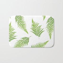 Fern seamless pattern Bath Mat