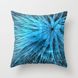 Abstract Flower5 Throw Pillow