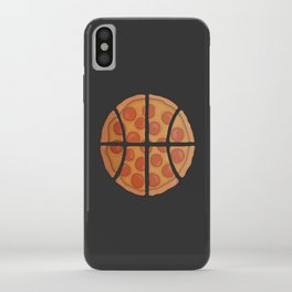 Pizza Basketball iPhone Case