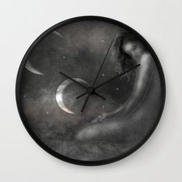 Mother of the Moons Wall Clock