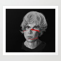 kris tate Art Prints featuring tate by aiemmaes
