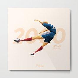 Euro History - Trezeguet 2000 Metal Print