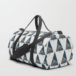 Blue Xmas #society6 #blue #xmas Duffle Bag