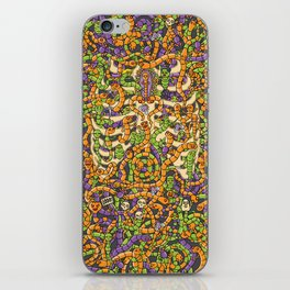 Worms on my body iPhone Skin