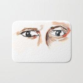 Castiels eyes  Bath Mat