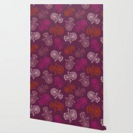 Hamsa Hand Print Wallpaper