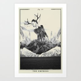 Fig. III - The Empress Art Print
