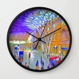 London Pop Art Wall Clock