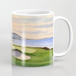 Pebble Beach Golf Course 9th Green Coffee Mug