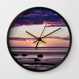 Under the Storm Wall Clock