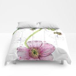 Hanging helleborne Comforters