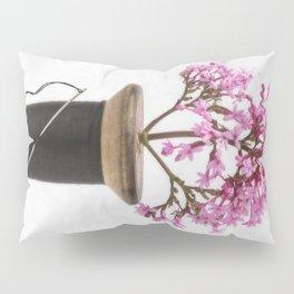 Wooden Vase Pillow Sham
