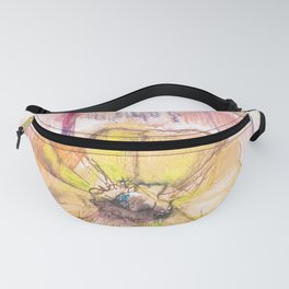 Yellow flowers 1 Fanny Pack