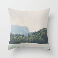into the wilderness she went ... Throw Pillow