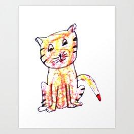 Kitten kay Art Print