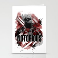 notorious Stationery Cards featuring Notorious by Skye