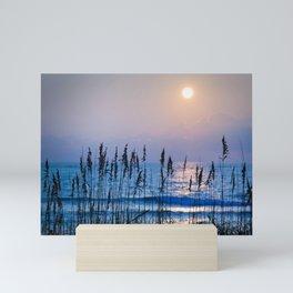 Sea Oats Sunrise 1 Mini Art Print