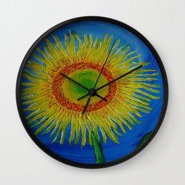 Brent's Sunflower Wall Clock