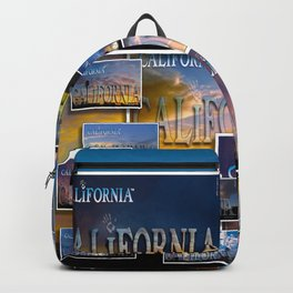 California POSTCARD HD by JC LOGAN 4 Simply Blessed Backpack
