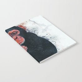 Chimpanzee Art Notebook