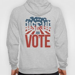 Rise up and Vote Gift for Non Voting Midterm Elections Hoody