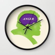 Hulk Phrenology Wall Clock