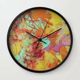 Orange is the New Orange Wall Clock