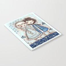 When I Am Blue - by Diane Duda Notebook