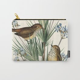 Little Birds and Flowers III Carry-All Pouch