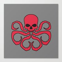 hydra Canvas Prints featuring Hydra by Beastie Toyz