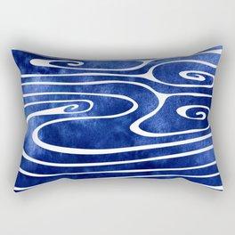Tide III Rectangular Pillow