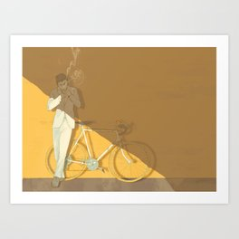 Bad Leroy Brown Art Print