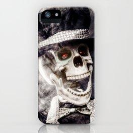 The Dapper Skeleton iPhone Case