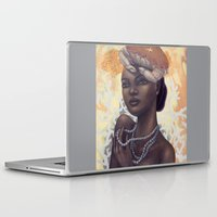 cancer Laptop & iPad Skins featuring Cancer by Artist Andrea