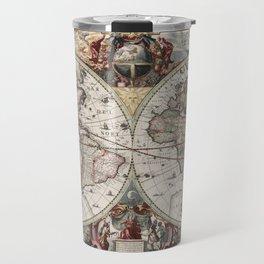 Vintage Maps Of The World Travel Mug