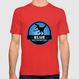 Velociraptor Squad: Blue Team T-shirt