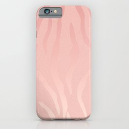 Blush Tiger iPhone Case