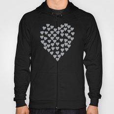 Hearts Heart Black Hoody