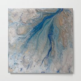 Pearl Aqueous Metal Print