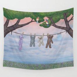 meadow fresh teddy bears Wall Tapestry