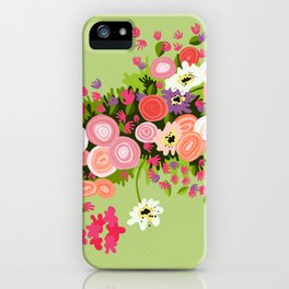 Flowerpower iPhone Case
